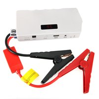 Wholesale US Stock mAH V Car Battery Emergency Power Jump Starter Booster Charger for Cellphone PDA Tablet PC MP3 MP4 Camera Laptop Notebook