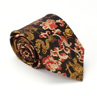 Wholesale high end China brocade Made to measure traditional craft NeckTie