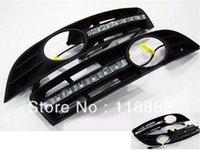 Cheap Free Shipping DRL Daytime Driving Llights for VW Magotan 2011 Daytime Running Lights LED DRL Lights 1pair