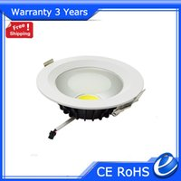 Wholesale LED Downlight COB LED Down Light Dimmable Ceiling W W W W W Warranty Years CE RoHS Factory Supply