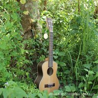 Wholesale Vuk Lily inch ukulele pine veneer rosewood logs color small guitar ukulele