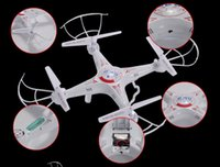 Wholesale Original Syma X5c ghz axis Gyro Quadcopter RC Helicopter Drone UAV UFO RTF with mp HD Camera Degrees Gyro Toy LED Quadcopter