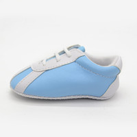shoe sole material - Striated Pu Material Health Baby Shoes Solid Slip resistant Soft soled First Walkers Fashion Shoes For New Infant Unisex Kids