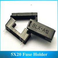 Wholesale BLX A MM With Lid Fuse Holder X20 Fuse Bracket Black Pitch about MM