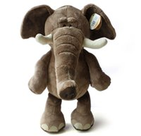 Wholesale New Arrival lovely plush toy elephant cm high quality plush toys stuffed doll HT443
