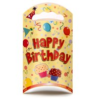 Cheap children's birthday party gift bags cartoon bags of candy bag birthday party supplies Favor 20 pcs19.6*13.6cm