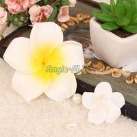 foam plumeria - TMC Foam Frangipani Artificial Plumeria Flower Heads DIY Cap Hat Wreath Decor
