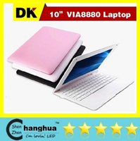 Cheap Cheap 10inch Mini Laptop Notebook Computer webacm 1G 8G Via 8880 Android netbook laptops HDMI Integrated Graphics FREE SHIPPING