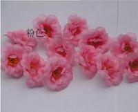 Wholesale New cm silk flowers Big cherry blossom flower heads wedding flower head