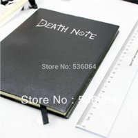 Wholesale Hot Sale Death Note Notebook Feather Pen Book Japan Anime Writing Journal New