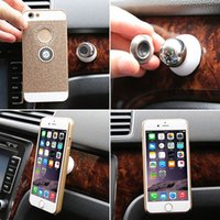 Wholesale 2015 Fashion New Car Mount Sticky Magnetic GPS Universal Phone Stand Holder For iPhone Plus Christmas Gift LIA
