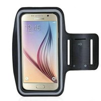 Wholesale Sport Armband for Samsung Galaxy S6 and S6 Edge with Key Holder Touchscreen Running Case