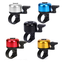 CYCLING BELL bicycle fittings - Metal Plastic Ring Handlebar Bell Horn Alarm Loud Sound Fit For Bike Bicycle Cycling MTB Sports Security Safety TOP Quality B017