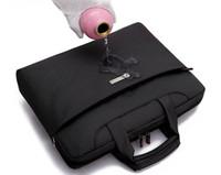 nylon waterproof zipper - Solid inch waterproof water proof watertightness Computer laptop notebook bags case messenger Shoulder bag men women