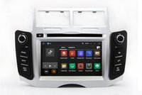 aux toyota - Android Car DVD Player GPS Navigation for Toyota Yaris with Radio BT USB SD AUX Audio Video Stereo Core