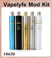 black jesus - Vapelyfe Mod Kit Ss copper black blue brass colorful mods Mechanical mod with rda atomizer thread fit VS jesus mod box mod tz438