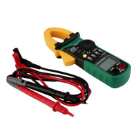 Wholesale New Handheld AC DC Mini Digital Clamp Meter Resistance Capacitance Diode new arrival