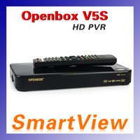 Wholesale 10pcs Original Openbox V5S HD full p V5S openbox satellite receiver support usb wifi cccamd newcamd D0145