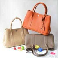 Wholesale Classical Luxury Garden Party Bag Genuine Leather Famous Brand Tote Designer Women Handbags Quality Shoulder Bag Shopping Hobos