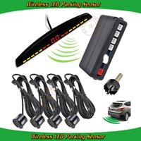 auto buzzer systems - car auto ultrasonic sensor auto parking paid system high accuracy detection buzzer alarm built in display