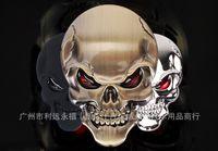 best bumper stickers - Best price New Zinc Alloy Devil Skull Car Stickers Decals Auto Bumper Stickers Car styling D Stickers
