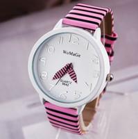 achat en gros de cadeaux de zèbre de noël-8 couleurs New Fashion PU Leather Bracelet WoMaGe Zebra Montres Pour Femmes Dress Quartz Montres Cadeau de Noël Livraison gratuite