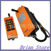 Wholesale 10 Channels One Speed industrial wireless Truck Hoist Crane Winch Radio Remote Control System Controller