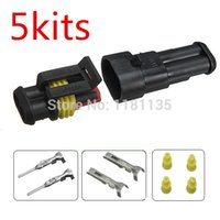 auto part prices - Lowest Price New Car Part Pin Way Sealed Waterproof Electrical Wire Auto Connector Plug Set