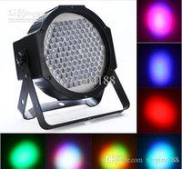 Wholesale 7 channel par lights DMX Stage Lighting for Disco DJ Party Show AC85 V RGB LED Effect Light
