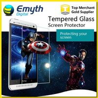 one price - Factory price Ultra Thin mm D H Tempered Glass Screen Protector For HTC One M7 M8 MAX Desire D616W with retail package