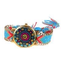 best graphs - Best Deal New Fashion Women Leisure Fashion Polygon Graph Braided Woman Bracelet Watches pc