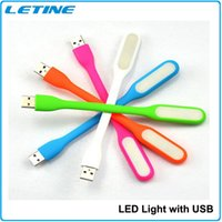 Wholesale 2015 Mini USB Light Xiaomi LED Light Gadget Portable Bendable Outdoor Sports Soft LED Light For Power bank Computer Factory price