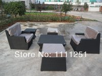 rattan outdoor furniture - 2015 All Weather Outdoor Wicker Furniture Sofa Set