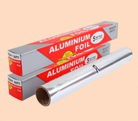 aluminum foil baking pans - Panas menjual cm m aluminium Foil kertas Barbecue BBQ kue memasak Foil makanan kemasan minyak dapur aluminium Foil