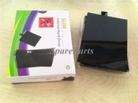 Wholesale For Xbox360 HDD Enclosure case Hard Disk Drive Bag Box HD Case for Xbox Slim HDD DHL
