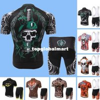 eagles jersey - 2015 Men s Cycling jersey Bicycle Bike Short Sleeve Jersey Bib Shorts Batman Skull Leopard Eagle Cube Bicicleta Ciclismo Roupas