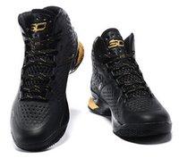 Vente en gros Stephen ONE 1 Chaussures de basket-ball Hommes Athletic Sport Homme Chaussures Cheap Surprise Party MVP Père à Son Birthday Sneakers 16 couleurs