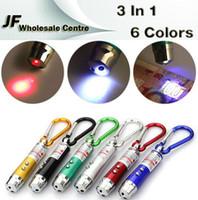 Cheap LED Mini Flashlight torch Best 5mW Red Laser Pen Pointer