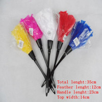 Wholesale Feather Duster Computer Brush Bookcase Cleaning Feather Duster Mini BlindS Dusters Sexy Maid Costume vacuum Dusting Brush Chenille Duster