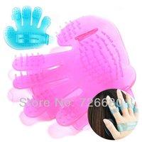 Wholesale Silica Gel Hair Washing wash Shampoo Comb Brush Massage Scalp Head Massage Care Cleaning