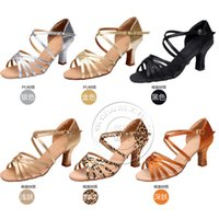 Wholesale Hot selling Latin dance shoes adult women s soft dance shoes girls ballroom tango salsa latin dance shoes