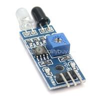Wholesale 1Pc cm Detector Distance Infrared Sensor Obstacle Avoidance Module