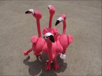 pink flamingos - New arrival stuffed plush toy bird Pink flamingly simulation doll Pink Flamingo Home decoration High quality