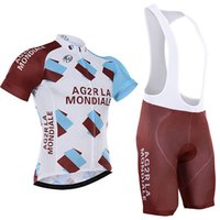 Wholesale 2016 AG2R Tour De France cycling jersey Quick Dry bicycle jersey cycling bibs set whit gel pad gel