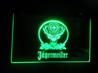 Wholesale b Jagermeister Beer Bar LED Neon Light Sign