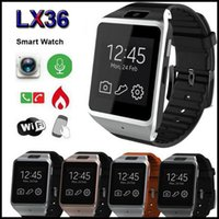 Wholesale Gear LX36 inch Touchscreen Capacitive OGS MTK6260 MB GB Bluetooth MP Camera Smart Watch Wrist for NOTE NOTE S5