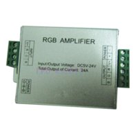 Wholesale RGB Controller Signal AMPLIFIER For RGB SMD LED Strip V A amplifier digital amplifier case