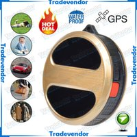 Wholesale Mini GPS Tracker Locator for kids Child Pet Cats Dog Car Vehicle Personal Google Map SOS Alarm GSM GPRS Tracker