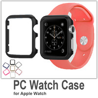 Wholesale pc material cover case mm mm watch case for apple iwatch case smart accessories fashion protection