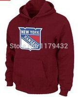 big mens sweatshirts - New York Rangers Big amp Tall Logo Pullover Fleece Hoodies Mens Sweatshirts Hockey Fans Hoody Front Pockets